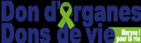 Dons d'organes, dons de vie Logo